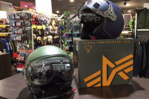 【Alpha industries/アルファインダストリー】パイロットヘルメット