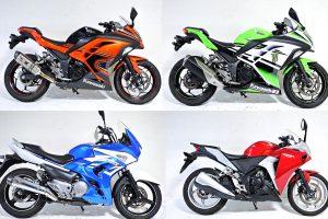 中古車250ccスポーツラインナップ多数