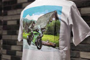あのバイクがTシャツになりました!